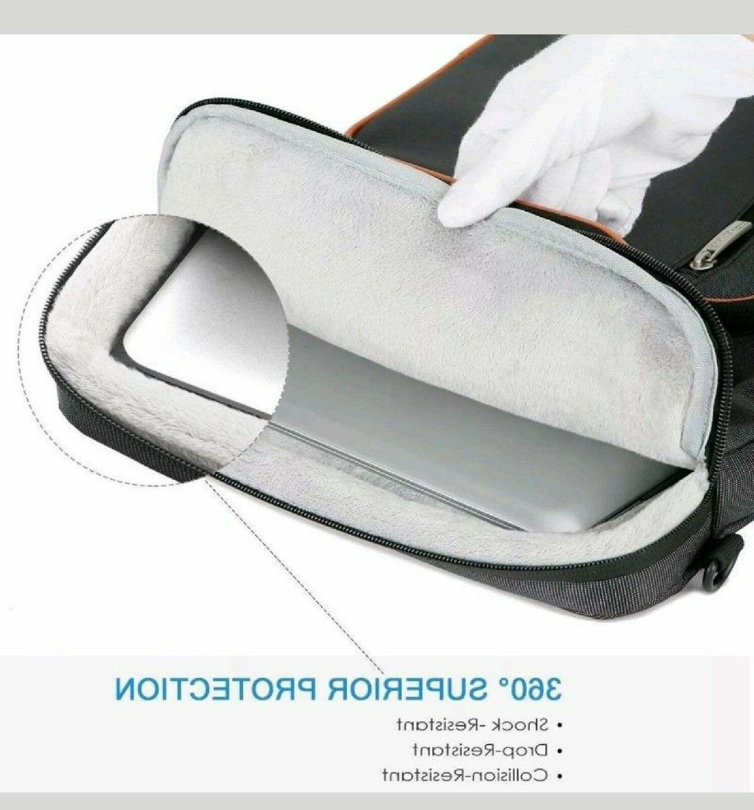 """Lacdo Laptop Bag 13""""13.5"""" WATERPROOF SHOCKPROOF 4"""