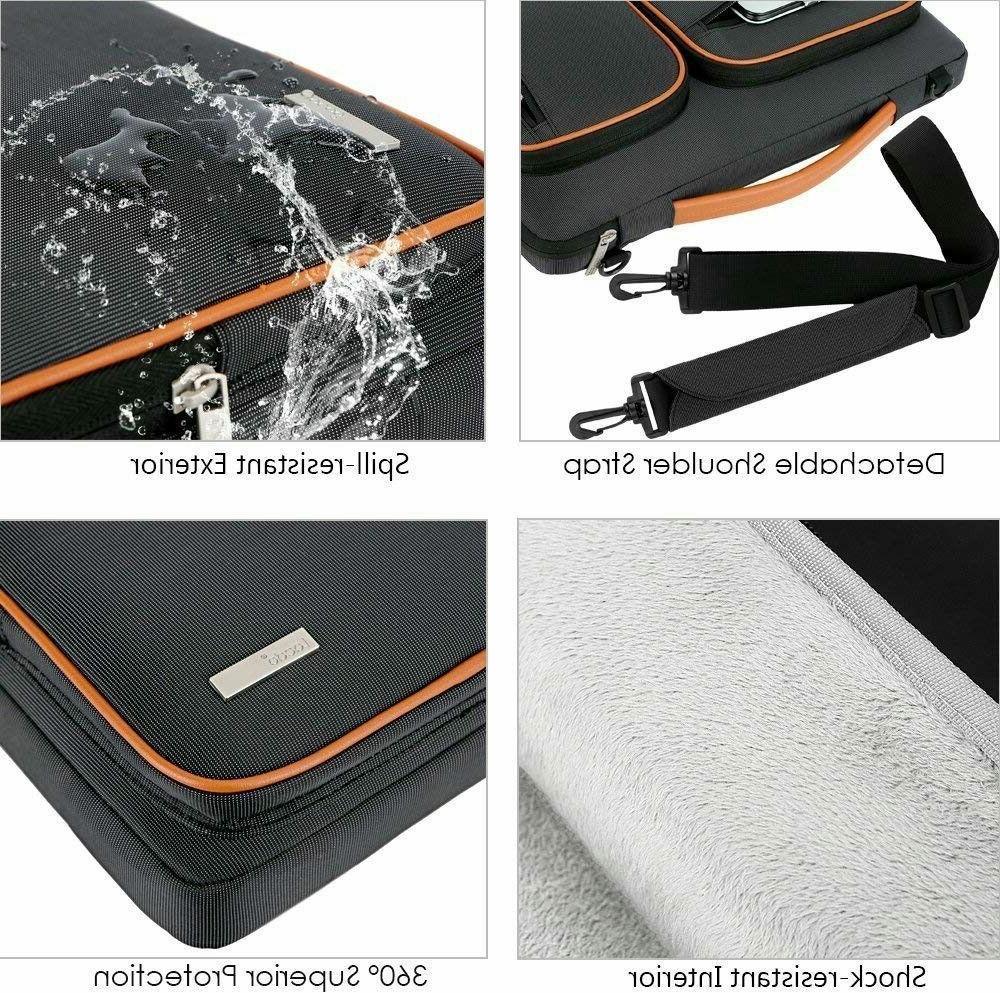 Lacdo Laptop Tablet Sleeve SHOCKPROOF 4 ZIP