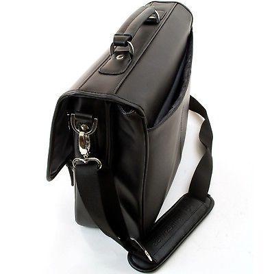 Alpine Swiss Leather Laptop *1
