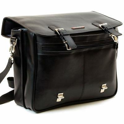 Alpine Swiss Briefcase Laptop Bag *1 Year Mfgs