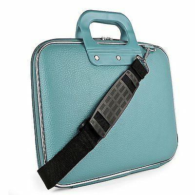 "SumacLife Leather Shoulder Bag Carry 13.3"" MacBook Air Pro"
