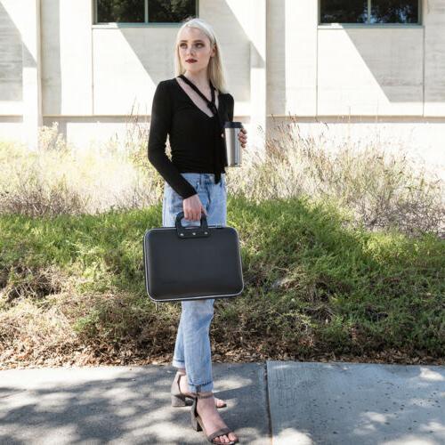 "SumacLife Leather Laptop Bag Case 13.3"" HP x360 / ENVY x360"