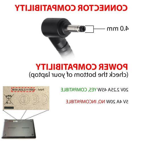 For Lenovo N23 20V 45W Charger