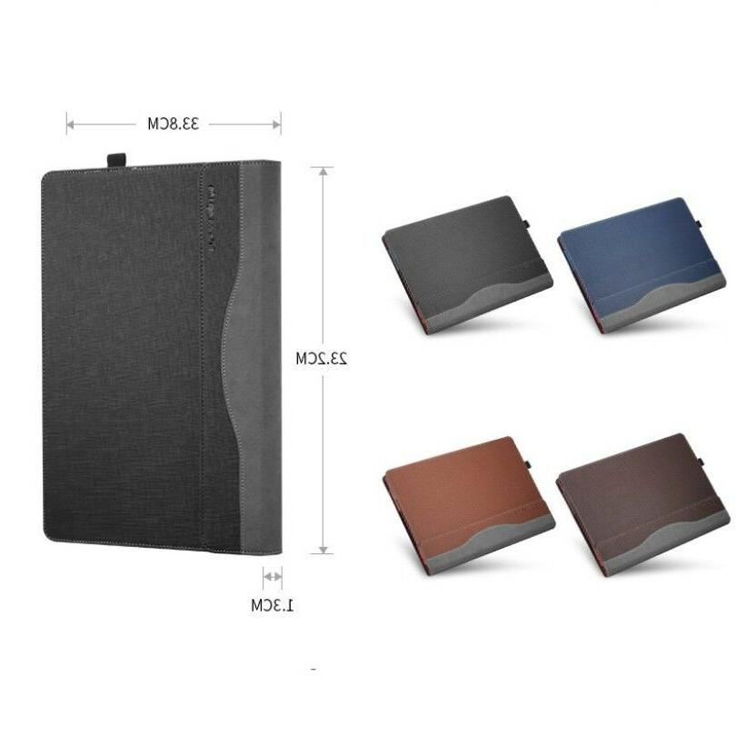 """For Lenovo 910 13.9"""" PU Leather Sleeve Cover"""