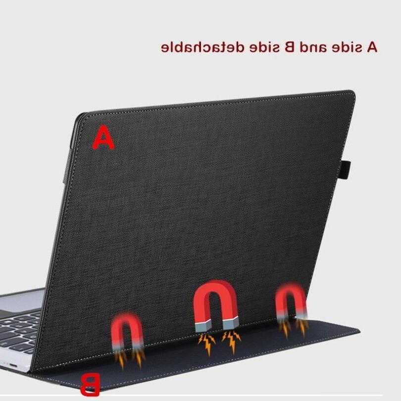 "For Lenovo Yoga 13.9"" Leather Sleeve Detachable Cover"