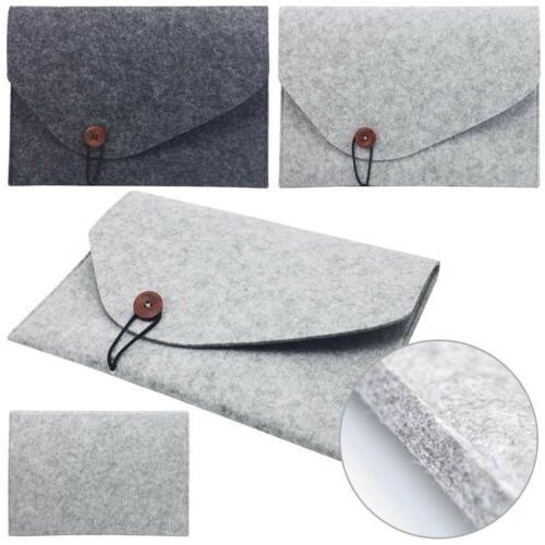 """For MacBook Air 11"""" 13"""" Woolen Envelope Sleeve Case"""