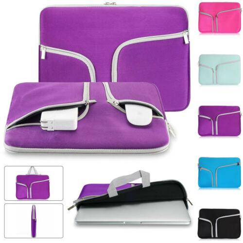 """For Macbook 11"""" 12""""15""""Inch Laptop Carry Pouch"""