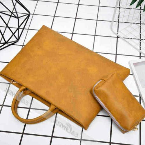 """For Air/Pro/Retina 13"""" Leather Bag Cover"""