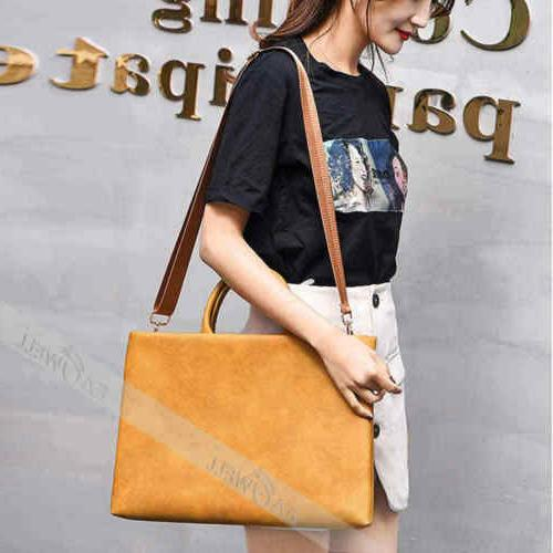 """For MacBook 11"""" Leather Sleeve Bag Cover"""