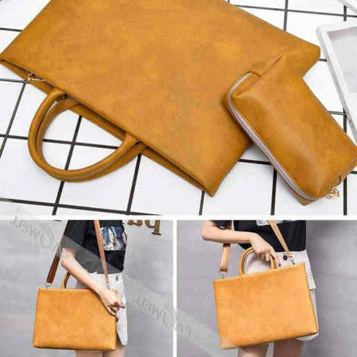 """For Air/Pro/Retina 13"""" 15"""" Leather Sleeve Case Cover"""