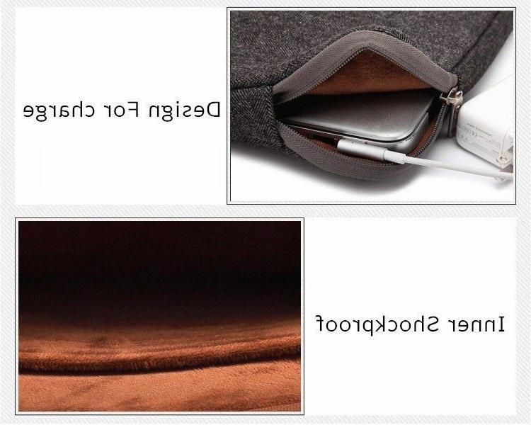 """Macbook Bags Laptop Air Pro Canvas Zipper Liner Print Case 11"""""""