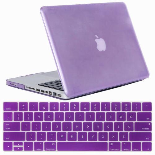 """For Macbook Pro 13"""" 15"""" Rubberized Laptop Case Keyboard Shell"""