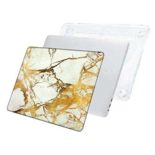"""Marble Case Cover for Macbook Air 15"""" 16"""" Retina 13 Shell Laptop"""