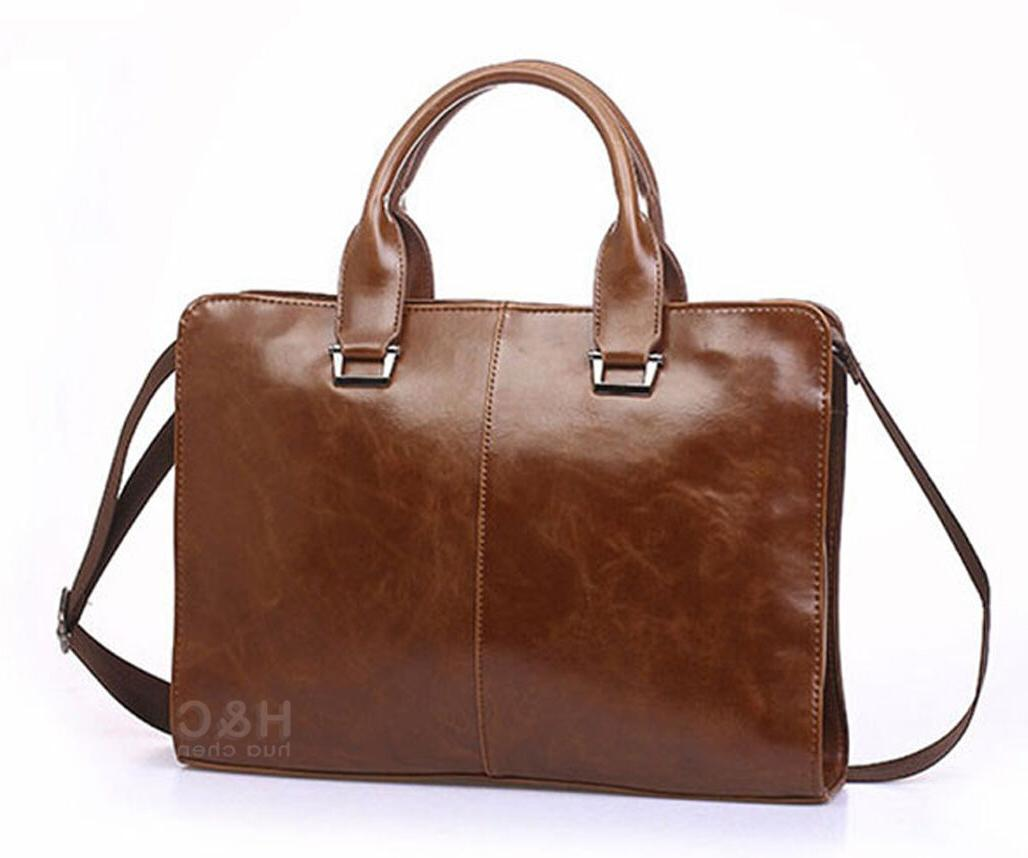 Men's Case PU Leather Shoulder Messenger Bag
