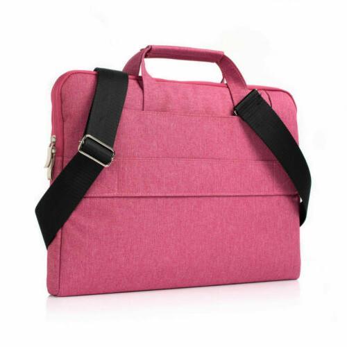 Laptop Shoulder Bag Bag Handbag Case For MacBook 12 13 15''