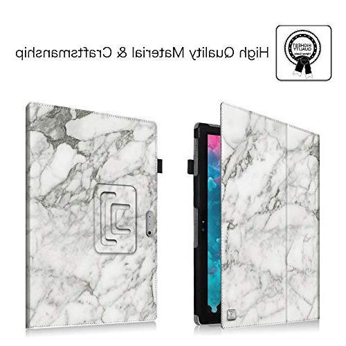 Fintie Case Premium Vegan Leather Folio with Microsoft Surface Pro / Pro Pro Cover