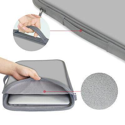 Neoprene Laptop Bag Side Pocket Fits inch -