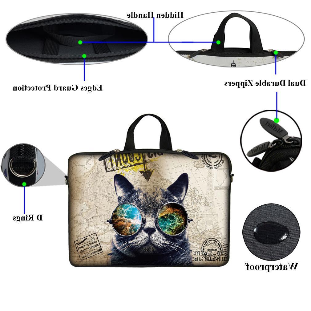 Neoprene Computer Case Bag Fit 10 inch 17.3 inch