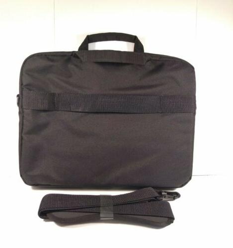 """New AmazonBasics 15.6"""" Laptop and Bag Case With Messenger"""