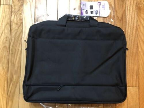 NEW - Black 17.3 Case Messenger Bag Free Shipping