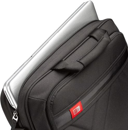 New Logic 15-Inch Laptop and Briefcase Black Durable