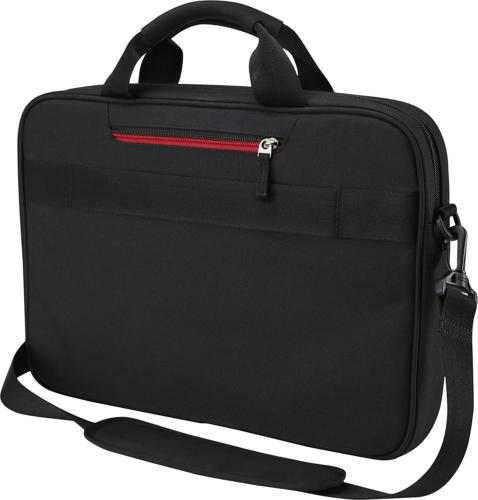 New Laptop and Briefcase Black Durable
