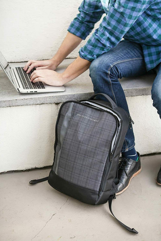 New - HP Ultrabook Case Backpack Gray Black