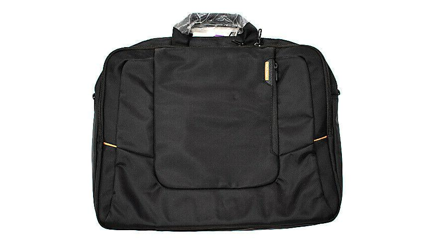 nwot black 17 3 inch nylon laptop