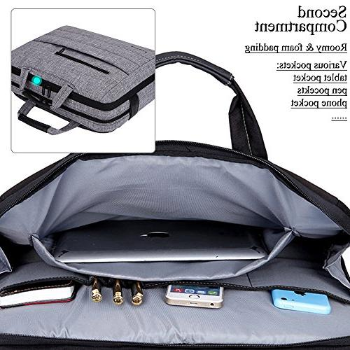 BRINCH Inch Shockproof Carry Laptop Messenger Bag for Inch / MacBook/Ultrabook/Chromebook and