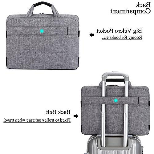 BRINCH 17.3 Inch Shockproof Laptop Messenger Inch Laptop/Notebook with and Various