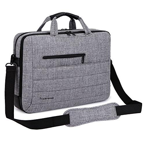 BRINCH Nylon Shockproof Carry Case Messenger Inch Laptop/Notebook with Shoulder and