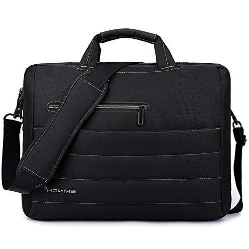 nylon shockproof laptop case messenger