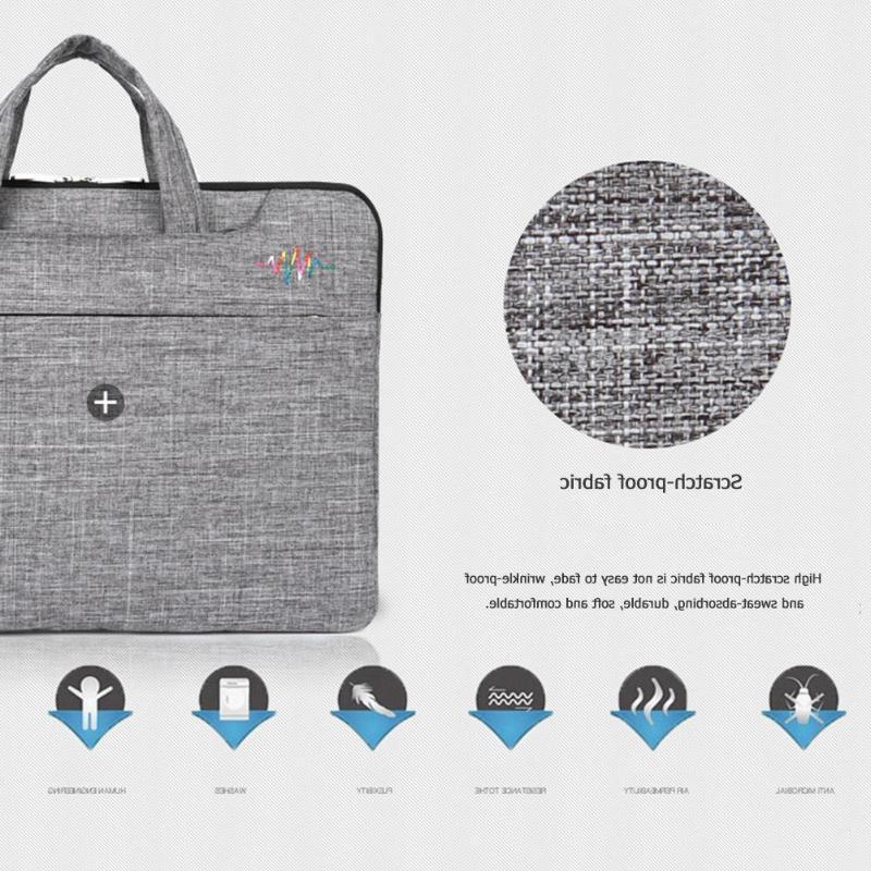 ALLOYSEED Nylon Bag Handbag Notebook Business Travel Carry <font><b>Case</b></font>