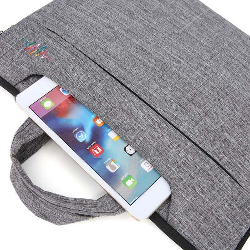 ALLOYSEED Waterproof <font><b>Laptop</b></font> Bag Handbag 15.6 Notebook Business For