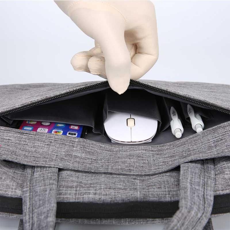 ALLOYSEED Nylon Waterproof Bag Handbag inch Notebook Travel For