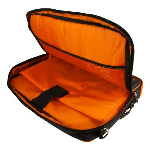 Orange Crossbody Business/College Compatible Laptops