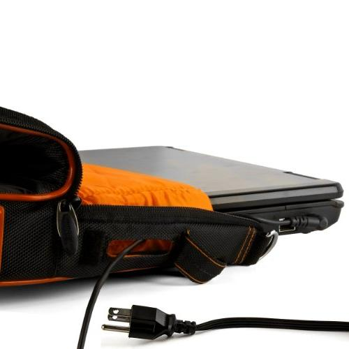 Orange Crossbody Business/College Compatible HP Laptops