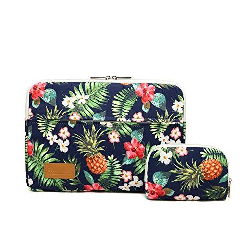 pineapple leaf pattern protective canvas
