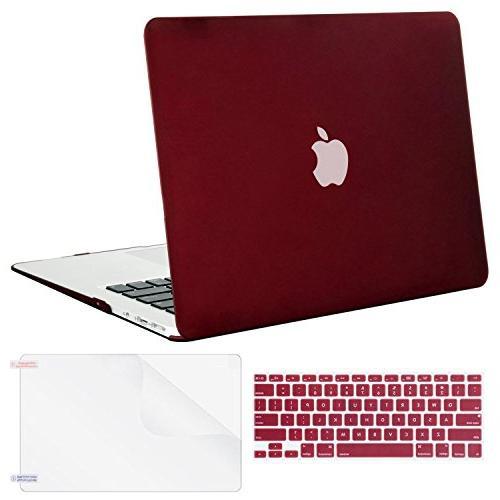 MOSISO Plastic Hard Screen MacBook 13 , Marsala