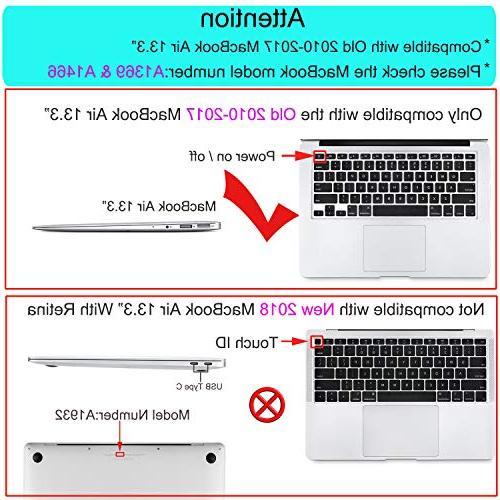 MOSISO Plastic Hard Case & Cover & Screen MacBook