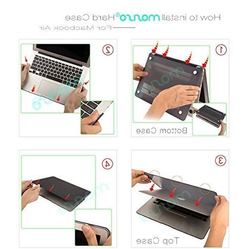 MOSISO & Keyboard Cover Screen Only MacBook Air , Marsala