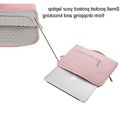 MOSISO Sleeve Briefcase Handbag Compatible Inch MacBook Notebook Polyester Case Pink