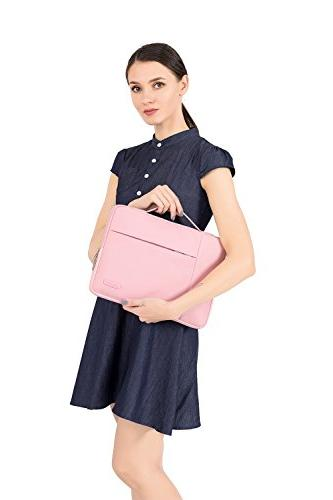 Handbag Compatible MacBook Polyester Multifunctional Case Pink
