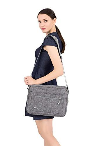 MOSISO Messenger Laptop Shoulder MacBook Also Fit Briefcase with at