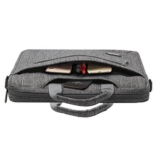 MOSISO Bag 2018/2017/2016 MacBook 14 Ultrabook, Briefcase at Gray