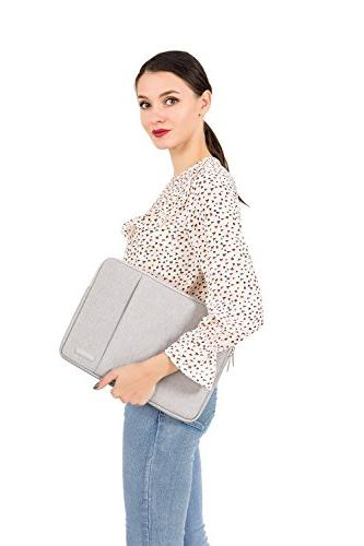 MOSISO Water Repellent Case Bag with Pocket 13-13.3 Inch MacBook MacBook Air, Notebook, Gray