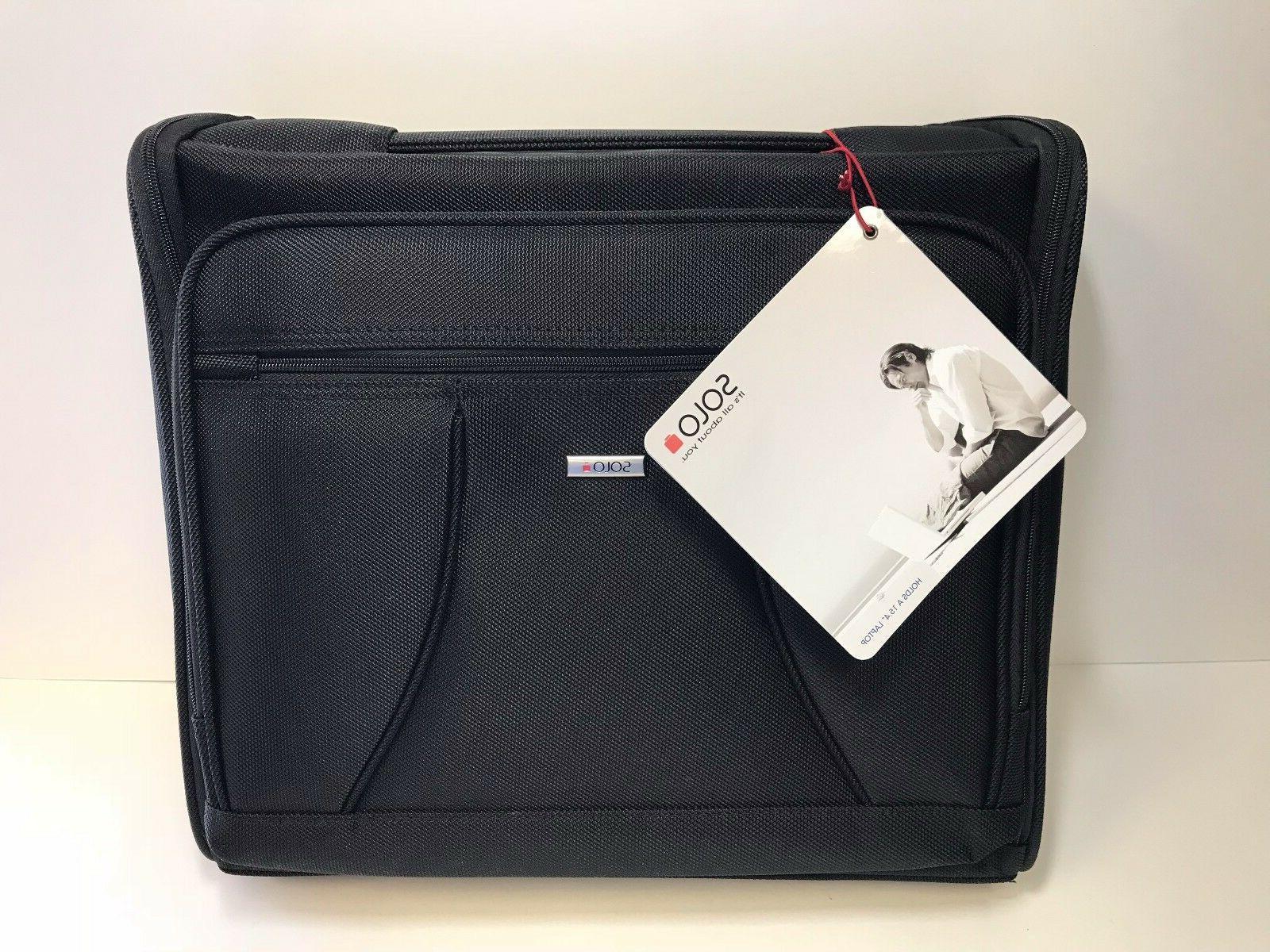 portfolio black b111 4 laptop carrying case