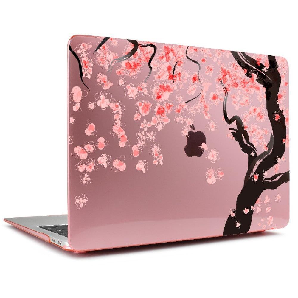 Print Floral <font><b>Pink</b></font> blossoms <font><b>Case</b></font> For Apple Retina 12 15 For Macbook 13 15 Air 13 A1932