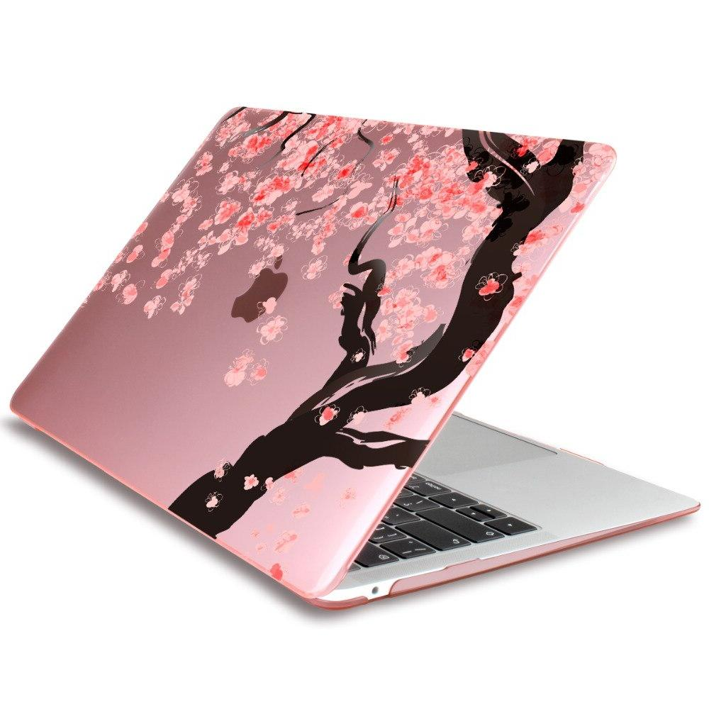 Print <font><b>Pink</b></font> blossoms <font><b>laptop</b></font> For Apple Macbook Air Retina 12 15 Air 13 A1932