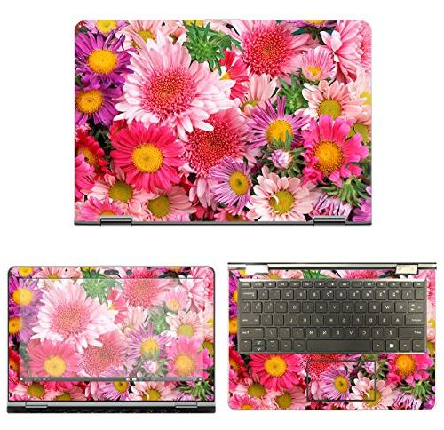protective decal floral skin sticker for hp